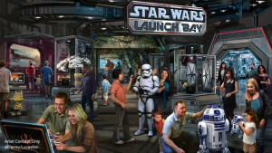 Star Wars na Disney Orlando: Launch Bay