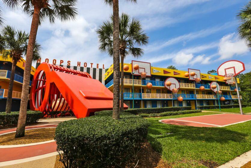 Hotel Disney All Star Sports em Orlando: basquete