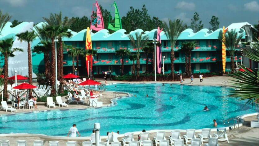 Hotel Disney All Star Sports em Orlando: piscina de ondas