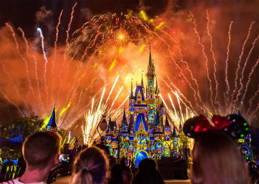 Magic Kingdom em Orlando: Show de Fogos