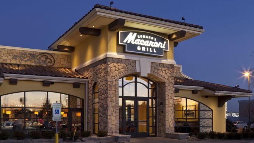 Onde comer com crianças na Disney e Orlando: Romano's Macaroni Grill