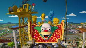 Brinquedo dos Simpsons em Orlando