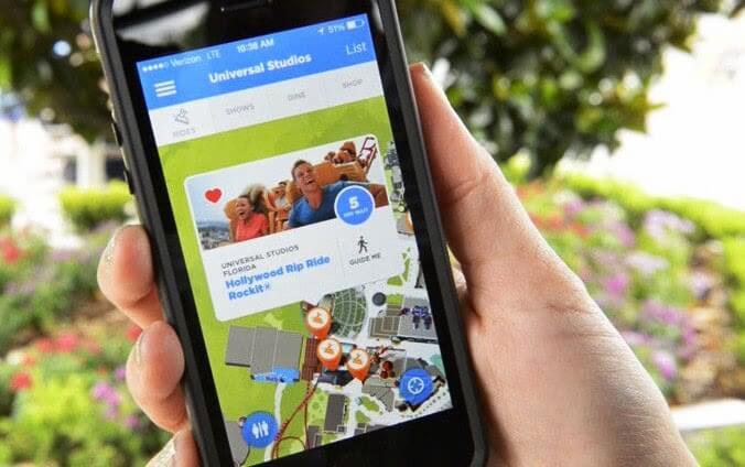 Usar o celular nos parques de Orlando