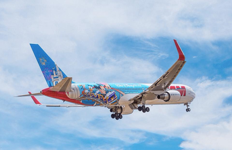 Avião da Disney da LATAM