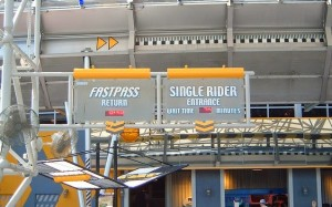 Fila Single Riders nos parques de Orlando: FastPASS e Single Rider