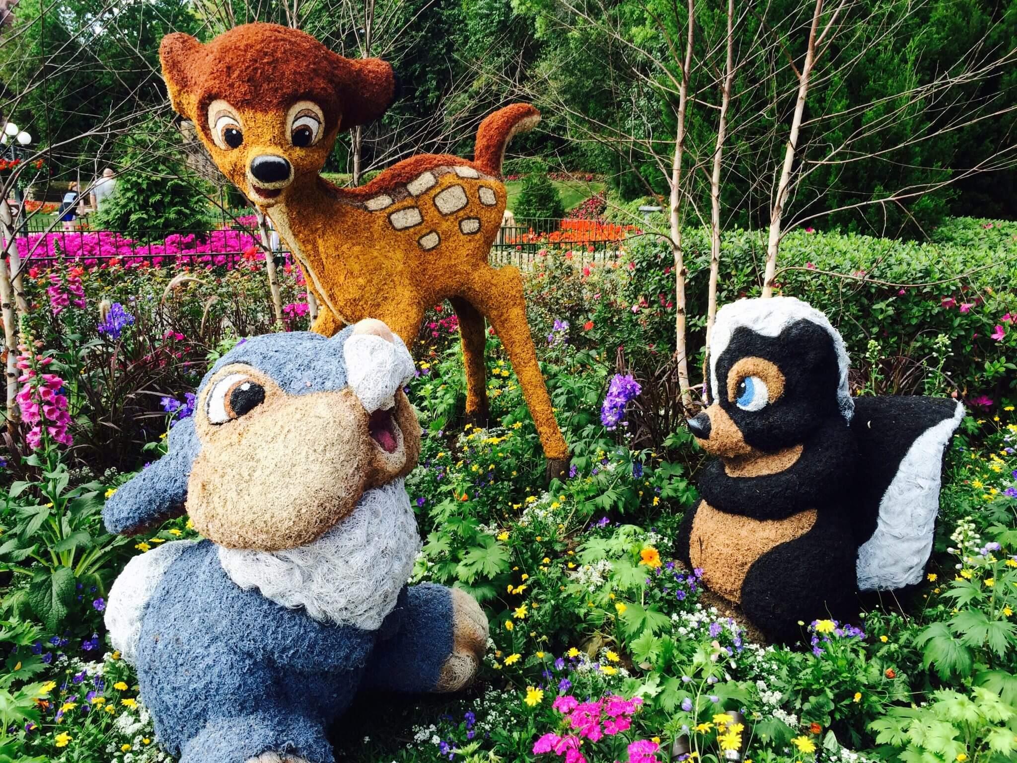 Flower And Garden Festival No Parque Epcot Orlando Dicas Da Disney E Orlando