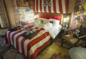 Hotel da Lego em Orlando: quarto temático Pirate
