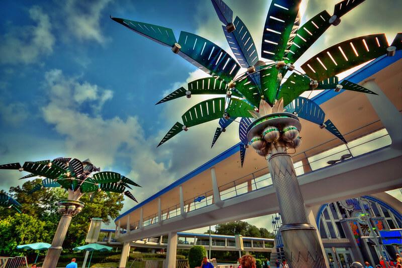 Área Tomorrowland na Disney