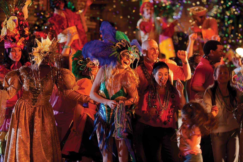 Mardi Gras no Universal Studios Orlando 3