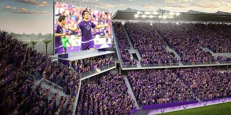 Orlando e Disney no mês de outubro: jogo de futebol do Orlando City