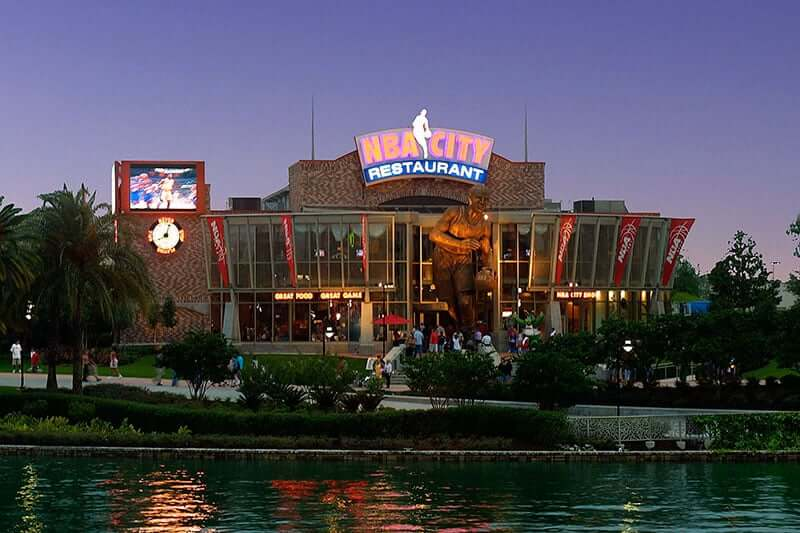 Complexo Universal Studios em Orlando: Universal CityWalk