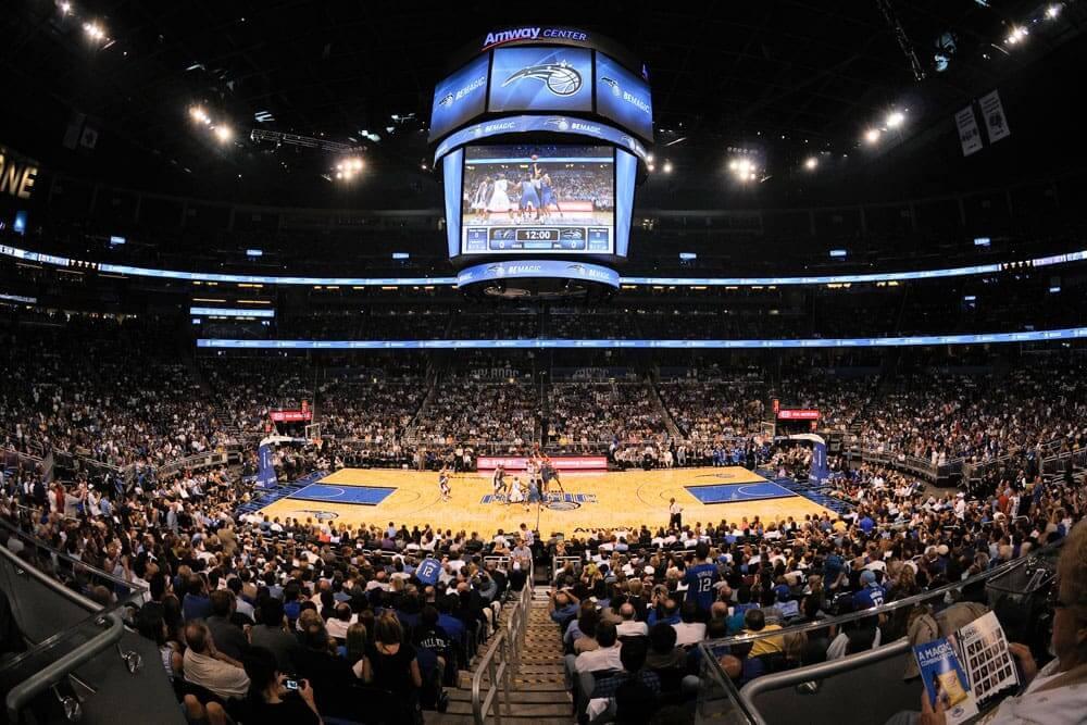 Por que Orlando é considerado o melhor destino para as férias de julho: NBA Amway Center