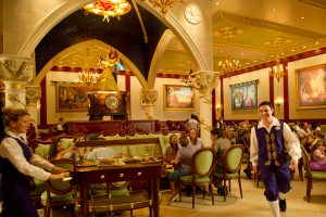 Restaurante Be Our Guest da Bela e a Fera na Disney Orlando