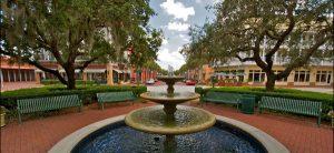 Bairro Celebration em Orlando: fonte