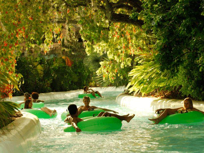 Parque Adventure Island Tampa Orlando: correnteza