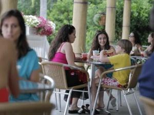 Parque Adventure Island Tampa Orlando: restaurante