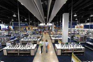 Lojas de eletrônicos Best Buy em Orlando: dentro da loja