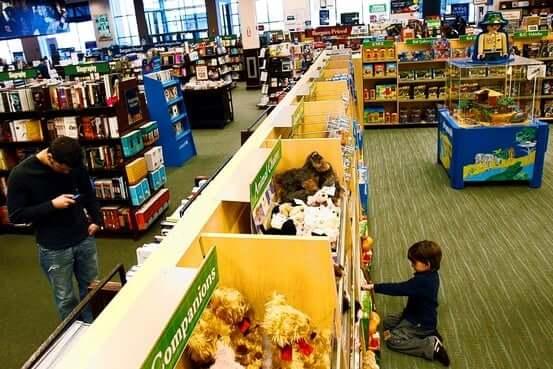Livraria Barnes & Noble em Orlando 1