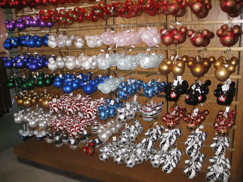 Onde comprar enfeites de Natal na Disney Orlando: loja World of Disney