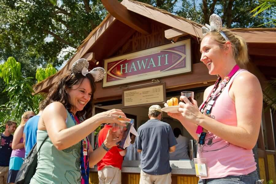 International Food & Wine Festival no Epcot da Disney Orlando em 2019: Hawaii