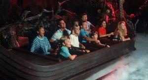 Área do Frozen no Parque Disney Epcot Orlando: atração