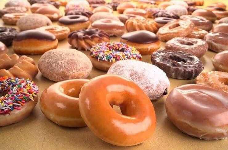 Loja de donuts Krispy Kreme em Orlando