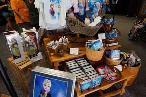 Loja do Frozen na Disney em Orlando