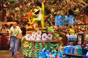 Restaurante Rainforest Cafe Orlando: loja