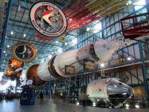 7 atrações do Kennedy Space Center Orlando: Apollo / Saturn V Center