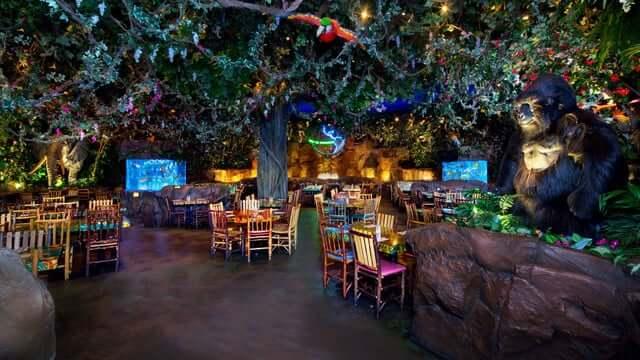 Restaurante Rainforest Cafe Orlando 2