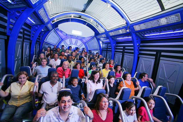 Atração Shuttle Launch Experience noKennedy Space Center Orlando