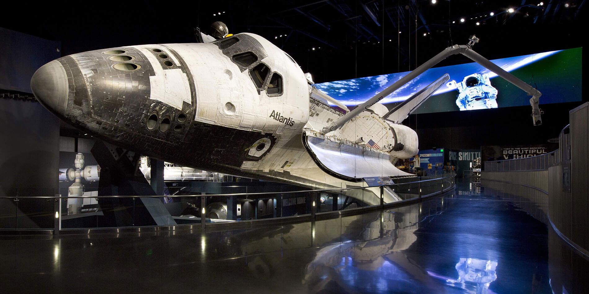 Atração Space Shuttle AtlantisnoKennedy Space Center Orlando