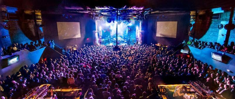 Balada The Beacham em Orlando: ambiente interior