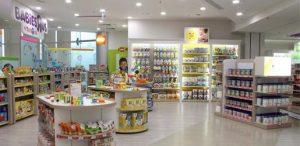 Loja Babies R Us em Orlando: interior da loja
