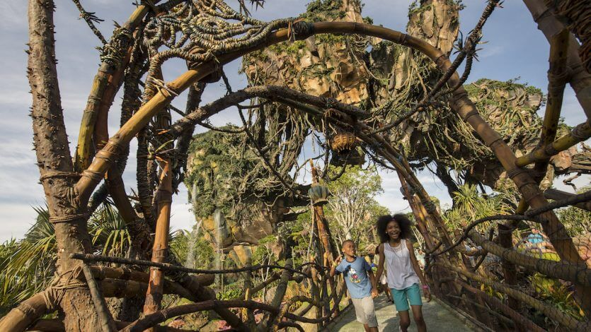 Parque Animal Kingdom da Disney Orlando: Pandora