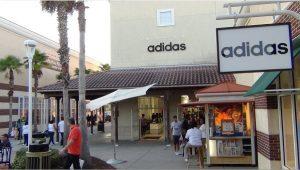 Lojas da Adidas em Orlando: outlet da Adidas