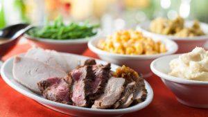 Restaurantes da Disney para a ceia de Natal em Orlando: comida