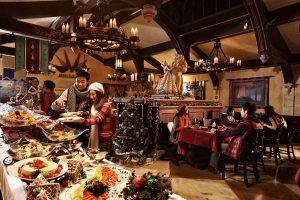 Restaurantes da Disney para a ceia de Natal em Orlando: jantar de Natal