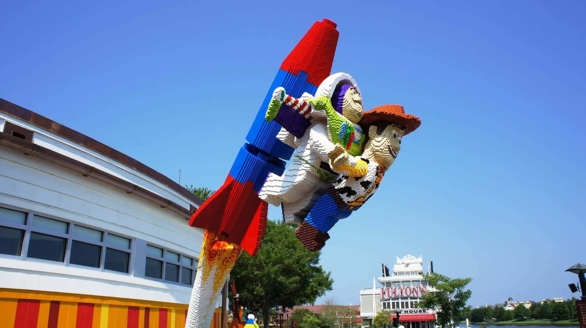 Compras na Lego Imagination Centerno Walt Disney World Orlando