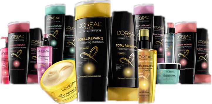 Shampoos e produtos da L'Oréal em Orlando: linha de produtos para cabelo