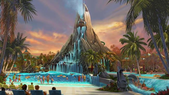 Novas atrações em Orlando para 2017: Volcano Bay Water Park