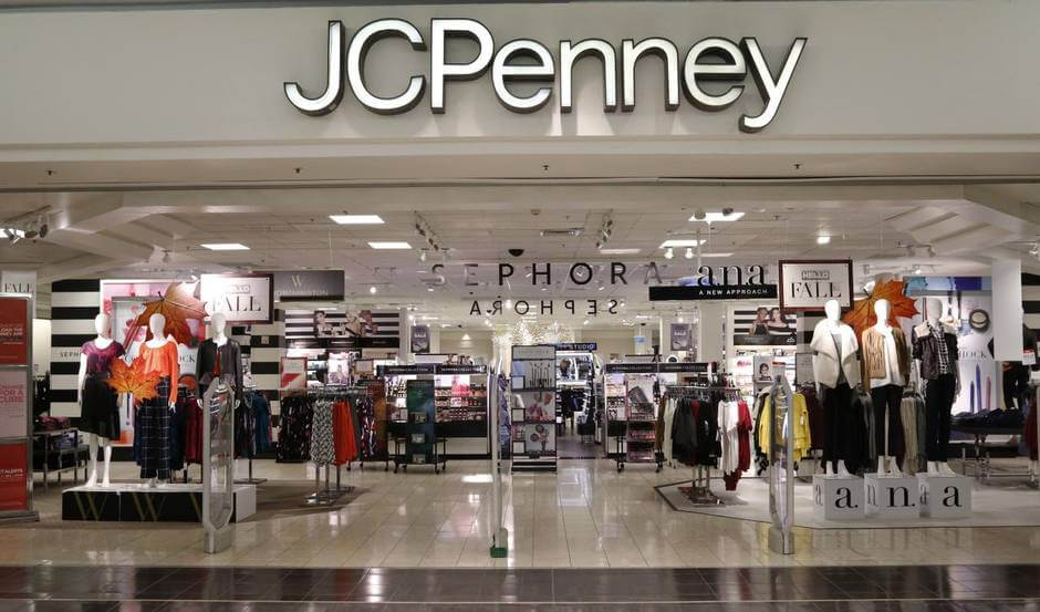 Jc penny clothing store