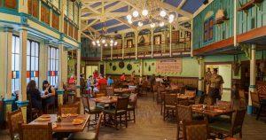 restaurante Jungle Skipper Canteen no Magic Kingdom: dentro do restaurante