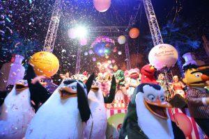 Ano Novo na Universal Studios em Orlando: parques da Universal