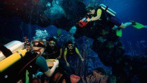 Mergulho no Epcot na Disney Orlando: DiveQuest