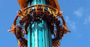 7 atrações e brinquedos do Parque Busch Gardens em Orlando: Falcon's Fury