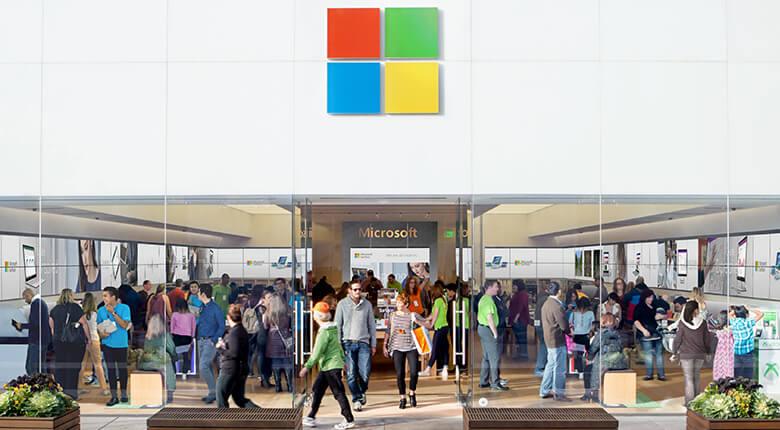 Loja Microsoft em Orlando: Mall at Millenia
