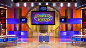 7 Programas de TV e filmes feitos no Universal Studios Orlando: programa de TV Family Feud