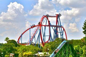 Aplicativo do Busch Gardens em Orlando: montanha-russa SheiKra