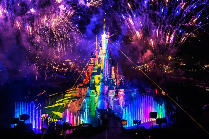 Monte sua programação dos parques Disney em Orlando: Castelo da Cinderela no parque Magic Kingdom